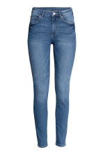 Superstretch trousers - Denim blue - Ladies | H&M GB 2