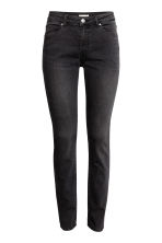 Superstretchbroek - Nearly black - DAMES | H&M BE 2