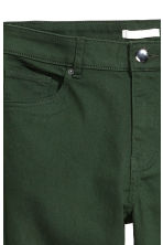 Superstretch trousers - Dark green - Ladies | H&M 4