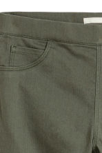 Superstretch treggings - Khaki green - Ladies | H&M 3