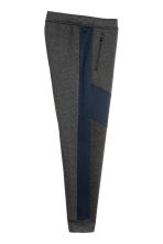Sports trousers - Dark grey marl/Dark blue - Men | H&M CN 3
