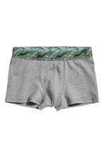 3-pack Boxer Shorts - Khaki green/black/gray - Men | H&M CA 3