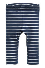 2-pack jersey trousers - Dark blue - Kids | H&M CN 2