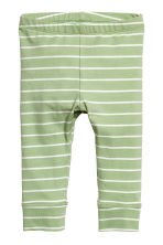 2-pack jersey trousers - Light green - Kids | H&M CN 2
