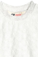 Sleeveless lace top - White - Kids | H&M CN 3