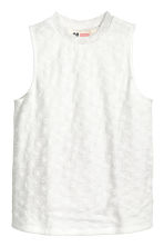 Sleeveless lace top - White - Kids | H&M CN 2