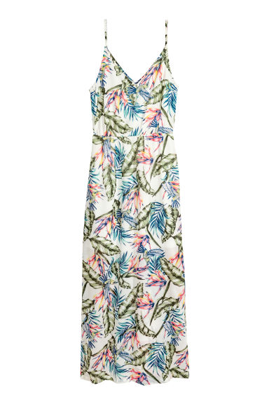 Maxi dress - White - Ladies | H&M