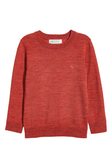 Pullover in lana merinos - Ruggine - BAMBINO | H&M IT