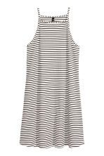 Short jersey dress - White - Ladies | H&M CN 2