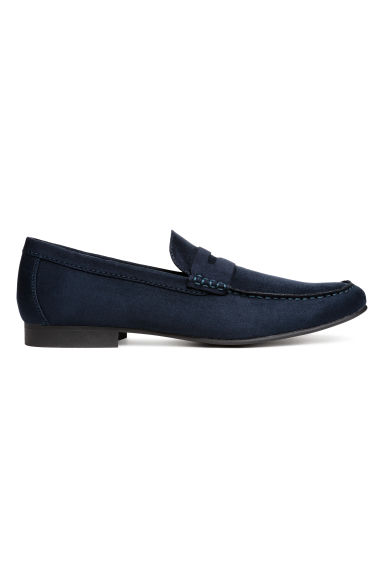 Loafers - Dark blue - Men | H&M CN 1