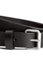 Leather belt - Black - Ladies | H&M 3