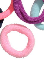 12-pack hair elastics - Pink -  | H&M 2