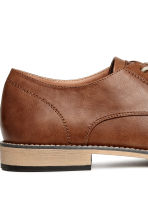 Derby shoes - Brown - Men | H&M CN 4