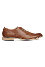 Derby shoes - Brown - Men | H&M CN 1