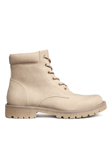 Chunky-soled boots - Beige - Men | H&M 1