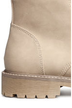 Chunky-soled boots - Beige - Men | H&M 4