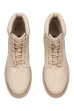 Chunky-soled boots - Beige - Men | H&M 2
