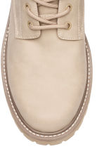 Chunky-soled boots - Beige - Men | H&M 3