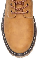 Chunky-soled boots - Mustard yellow - Men | H&M 3