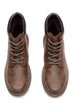 Chunky-soled boots - Brown - Men | H&M CN 2