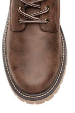 Chunky-soled boots - Brown - Men | H&M CN 3