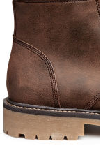 Chunky-soled boots - Brown - Men | H&M CN 4