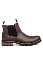 Chelsea boots - Dark brown - Men | H&M CN 1