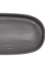 Stoneware serving dish - Anthracite grey - Home All | H&M IE 2