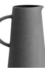Stoneware jug - Dark grey - Home All | H&M CN 2