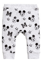 3-piece jersey set - White/Mickey Mouse -  | H&M 2