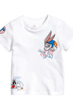 3-piece jersey set - Black/Bugs Bunny - Kids | H&M 3