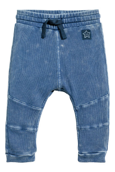 Joggers - Blau washed out -  | H&M CH 1