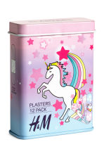 12-pack plasters - Purple/Unicorn - Kids | H&M 1