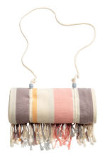 Beach towel - Natural white/Striped - Ladies | H&M CN 2