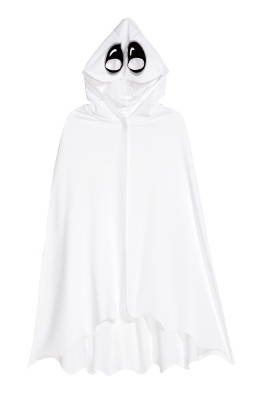 Fancy dress cape - White/Ghost - Kids | H&M