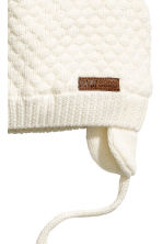Textured-knit hat - White - Kids | H&M 2