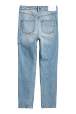 H&M+ Slim High Ankle Jeans - Light denim blue/Floral - Ladies | H&M CN 3