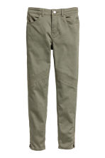 Biker trousers - Khaki green -  | H&M CN 2