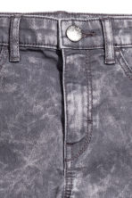 Pantalon de style motard - Gris washed out - ENFANT | H&M CA 4