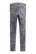 Biker trousers - Grey washed out -  | H&M CA 3