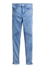 Biker trousers - Blue washed out - Kids | H&M CN 2