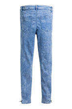 Biker trousers - Blue washed out - Kids | H&M CN 3