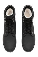 Pile-lined boots - Black - Ladies | H&M 2