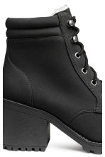 Pile-lined boots - Black - Ladies | H&M 4