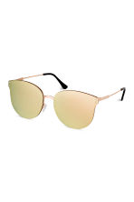 Mirrored-lens sunglasses - Gold - Ladies | H&M CN 1