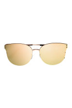 Mirrored-lens sunglasses - Gold - Ladies | H&M CN 2