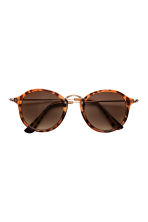 Sunglasses - Tortoise shell - Ladies | H&M CN 2