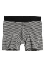 3-pack boxer shorts - Black/Leaf - Men | H&M 3