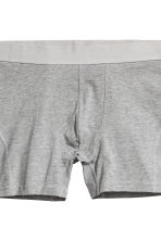 3-pack boxer shorts - Black/Leaf - Men | H&M 4