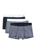 3-pack trunks - Blue - Men | H&M 2